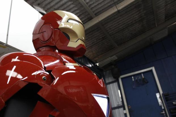 Vídeo de Homem de Ferro sendo feito com equipamentos de indústria caxiense viraliza Alexandre Bigunas/Divulgação