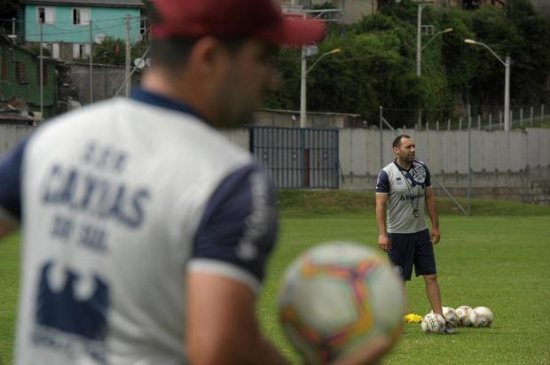 Da base ao profissional: conheça a história do auxiliar que comanda o Caxias no começo da Série D Lucas Amorelli/Agencia RBS