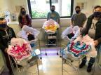 Hospital de Caxias veste recém-nascidos com trajes gaúchos na Semana Farroupilha Vanessa Galiotto / Divulgação/Divulgação