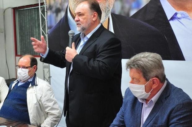 """""""Gente, vamos virar a página"""", pede pré-candidato do MDB a prefeito de Caxias Luiz Chaves/Divulgação"""