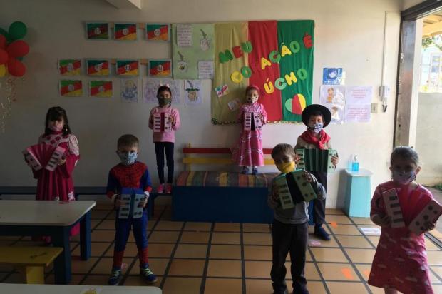 Saiba como foram os primeiros dias do retorno da Educação Infantil em Vacaria, Carlos Barbosa, Garibaldi e Canela Tais Catarini/Divulgação