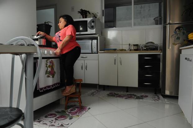 No Dia de Luta da Pessoa com Deficiência, conheça a história de Licilene que encara desafios diários em Caxias Antonio Valiente/Agencia RBS
