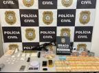 Operação encontra metralhadora e prende quatro homens em Caxias do Sul Polícia Civil / Divulgação/Divulgação
