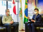 Cônsul do Japão no Rio Grande do Sul visita Caxias do Sul João Pedro Bressan/Divulgação