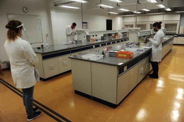 Professores e alunos da UCS se adaptam às atividades presenciais durante a pandemia Porthus Junior/Agencia RBS