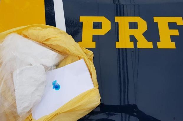 Apenado do semiaberto é preso ao transportar cocaína em Bento Gonçalves PRF/Divulgação
