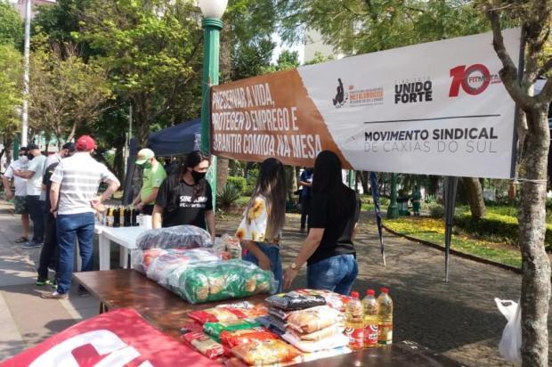 Ação do Sindicato dos Metalúrgicos vai distribuir sopa e coletar alimentos na Praça Dante Alighieri Uliane da Rosa/Divulgação