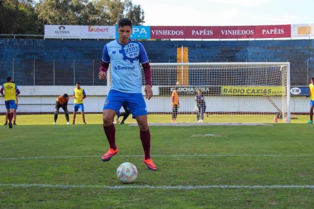 Centroavante do Caxias projeta primeiro jogo como titular Vitor Soccol/Dinâmica Conteúdo