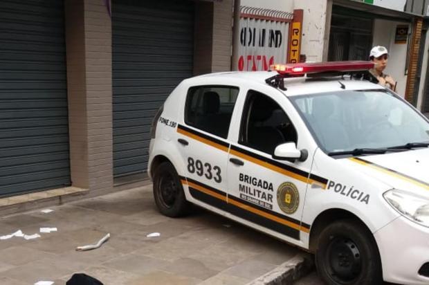 Homem é encontrado morto no Centro de Caxias do Sul Divulgação/Polícia Civil