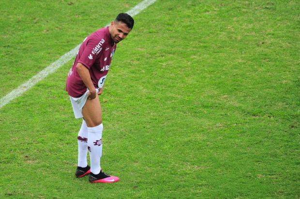 Lateral-direito do Caxias realiza exame e não apresenta lesão muscular Porthus Junior/Agencia RBS