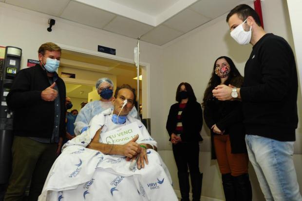 """""""O pai lutou pela vida"""", diz filho de primeiro paciente que recebeu plasma convalescente e morreu nesta sexta-feira Porthus Junior/Agencia RBS"""