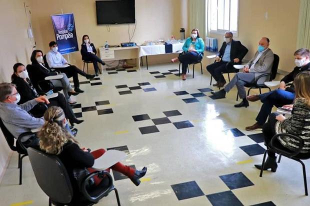 Pré-candidato a prefeito de Caxias defende articulação regional com governo do Estado para a saúde Facebook Pepe Vargas/Reprodução