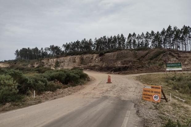 Inicia pavimentação da estrada de acesso ao cânion Fortaleza, em Cambará do Sul Camila Boff/Agência RBS