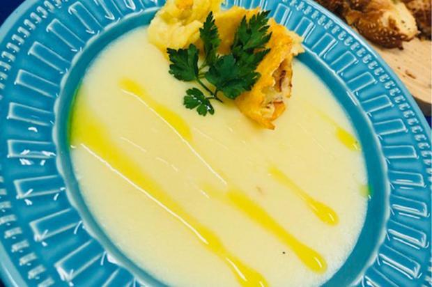 Na Cozinha: aprenda a fazer um delicioso creme de batata com queijo Daniela Barbosa  / Divulgação/Divulgação