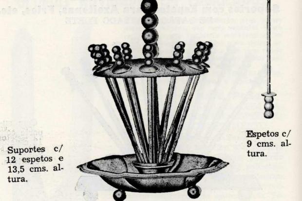 Eberle: as novidades em cutelaria e utensílios de cozinha em 1959 Boletim Eberle/Reprodução