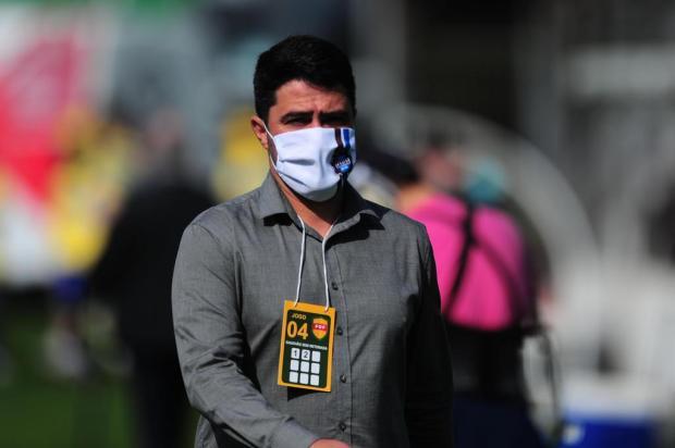 """""""Fizemos nossa melhor partida na competição"""", diz técnico do Caxias após vencer o Pelotas Porthus Junior/Agencia RBS"""
