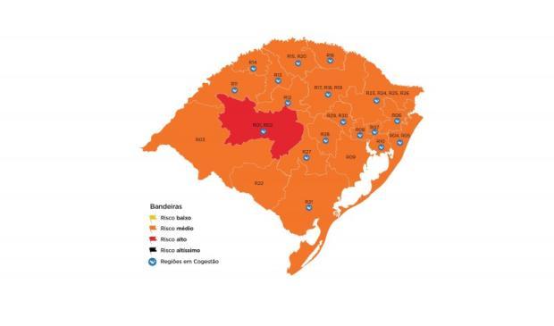 Serra seguirá na bandeira laranja pela 10ª semana consecutiva Governo do Estado do Rio Grande do Sul / Divulgação/Divulgação