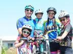 Família caxiense vai percorrer cerca de 200km de bicicleta até Torres neste final de semana Antonio Valiente/Agencia RBS
