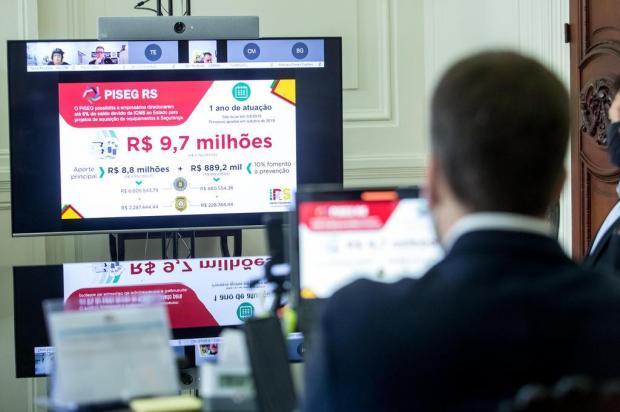 Empresários destinam mais de R$ 1,5 milhão de impostos para investimentos em segurança pública na Serra Gustavo Mansur,Palácio Piratini/Divulgação
