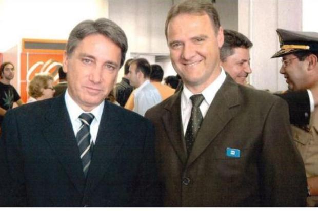 Candidato do PDT a prefeito de Caxias publica foto com ex-governador do MDB Facebook Edson Néspolo/Reprodução