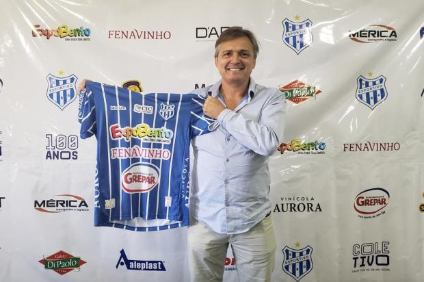 Luiz Carlos Winck é o novo técnico do Esportivo Gustavo Pozza/Divulgação Clube Esportivo