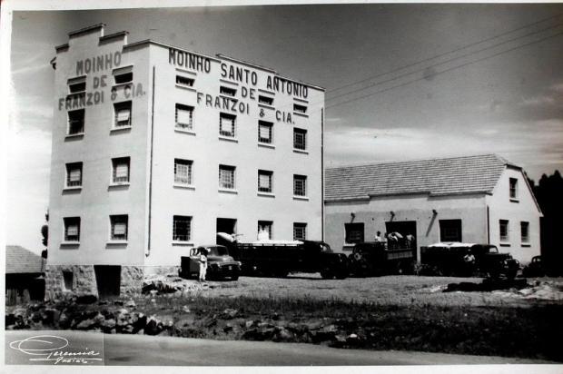 Franzoi & Cia: o Moinho Santo Antônio nos anos 1950 Geremia/Divulgação