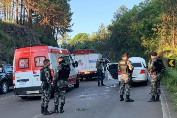 Identificados cinco dos seis suspeitos mortos em confronto com a Brigada Militar em Caxias Andre Fiedler/Agência RBS