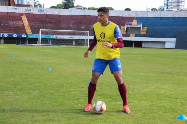 Centroavante do Caxias avalia erros diante do Marcílio Dias e projeta duelos contra o líder Vitor Soccol/SER Caxias,Divulgação