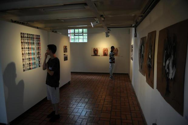 Iniciativa da Unidade de Artes Visuais de Caxias propõe que público crie obras de arte Felipe Nyland/Agencia RBS