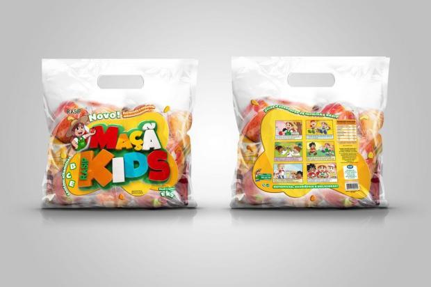 Rasip lança história em quadrinhos nas embalagens de maçã Rasip Kids/Divulgação