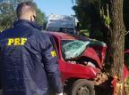 Identificados jovens que morreram em acidentes na Serra neste sábado Polícia Rodoviária Federal/Divulgação