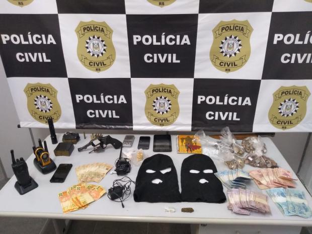 Polícia Civil prende cinco em ação para evitar disputa de facções em Caxias Polícia Civil / Divulgação/Divulgação