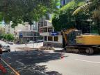 Construção dos corredores de ônibus avança para a Rua Bento Gonçalves, em Caxias André Fiedler/Agência RBS