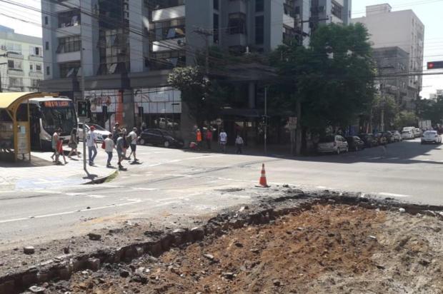Mais de 20 linhas do transporte coletivo serão impactadas por obra na Rua Marechal Floriano, em Caxias Rodrigo Rossi/Divulgação