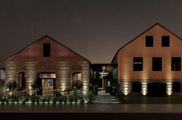 Bar de vinhos vai inaugurar em prédio histórico que já abrigou cantina Architecting Studio/Divulgação