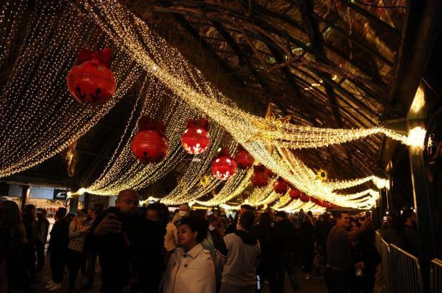 Programação do Natal Luz abre com movimento intenso no centro de Gramado Marcelo Casagrande/Agencia RBS