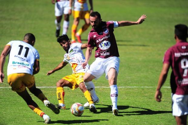 Com desfalque no meio-campo, Caxias inicia preparação para enfrentar o Marcílio Dias Porthus Junior/Agencia RBS