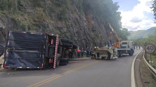 Motorista morre em acidente de trânsito em Flores da Cunha Divulgação / Grupo Rodoviário da Brigada Militar/Grupo Rodoviário da Brigada Militar