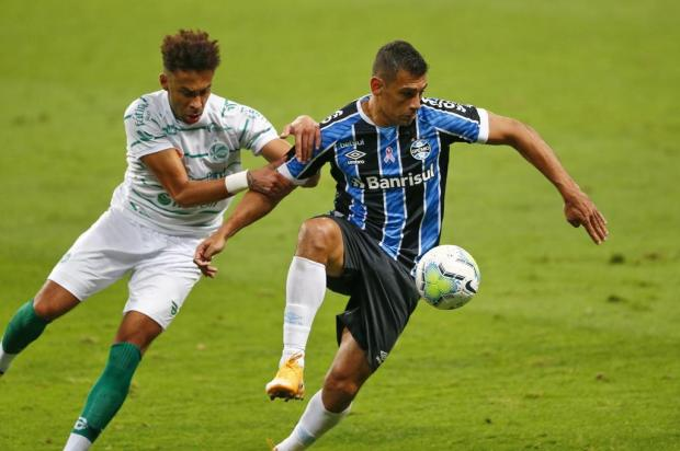 Juventude joga bem, desperdiça chance incrível e perde para o Grêmio na Arena Isadora Neumann/Agencia RBS