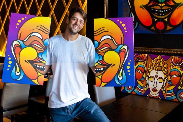 Sociedade: quer saber mais sobre o grafiteiro Fabio Panone Lopes? Lucas Fagundes / Divulgação/Divulgação
