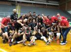 Caxias do Sul Basquete conquista o sétimo título estadual em duelo decidido nos minutos finais MATHEUS MAGNANI / caxias do sul basquete, divulgação/caxias do sul basquete, divulgação