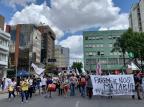 Sábado em Caxias é marcado por manifestações antirracistas e homenagens a homem morto em Porto Alegre Juliana Bevilaqua/Agência RBS