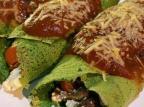 Almoço rapidinho: aprenda a fazer panqueca de espinafre Gabriela Grinplastch / Agência RBS/Agência RBS