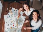 Mãe e filha criam empresa que evoca a terapia das cores Matheus Salvador/Divulgação