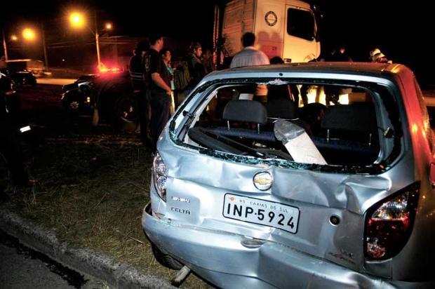 Quatro veículos se envolvem em acidente na RS-122 Juan Barbosa/