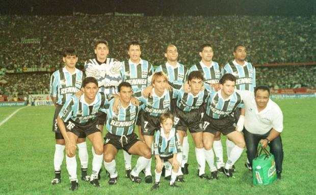 Grêmio tem superioridade contra colombianos na Libertadores Banco de Dados /