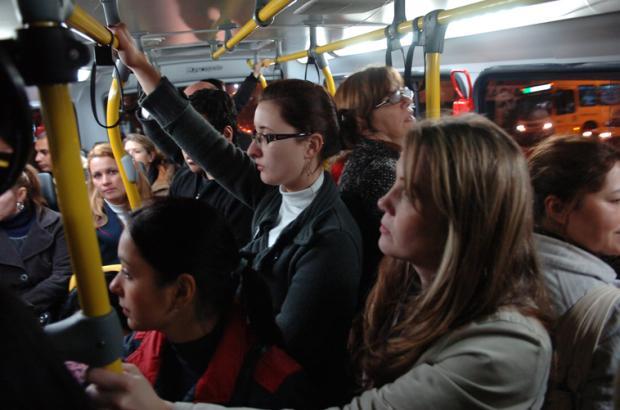 Mesmo com número de passageiros próximo ao limite, Caxias teve três denúncias de superlotação em ônibus neste ano Porthus Junior/