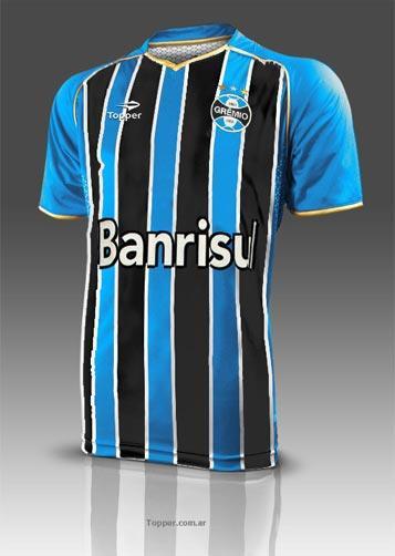 Fardamento do Grêmio com patrocínio da Topper será lançado em fevereiro  divulgação  1a778d4cc1dd3
